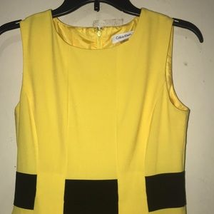 Calvin Klein bumblebee dress